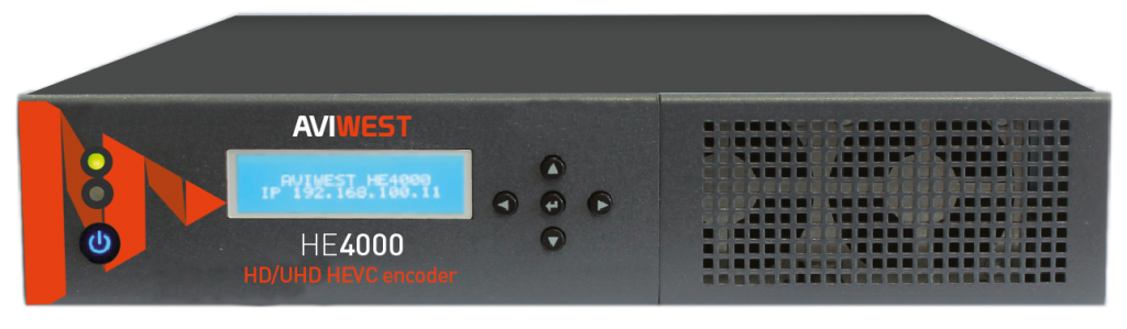 HEVC Encoder for Live 4K (UHD) Video Delivery - AVIWEST